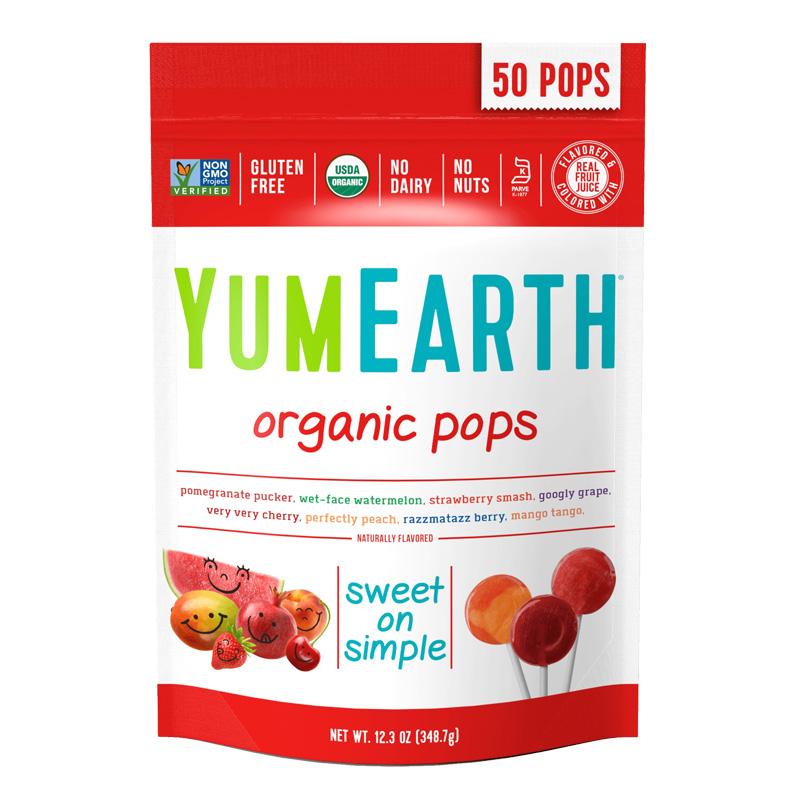 牙米滋 综合水果味棒棒糖 349g