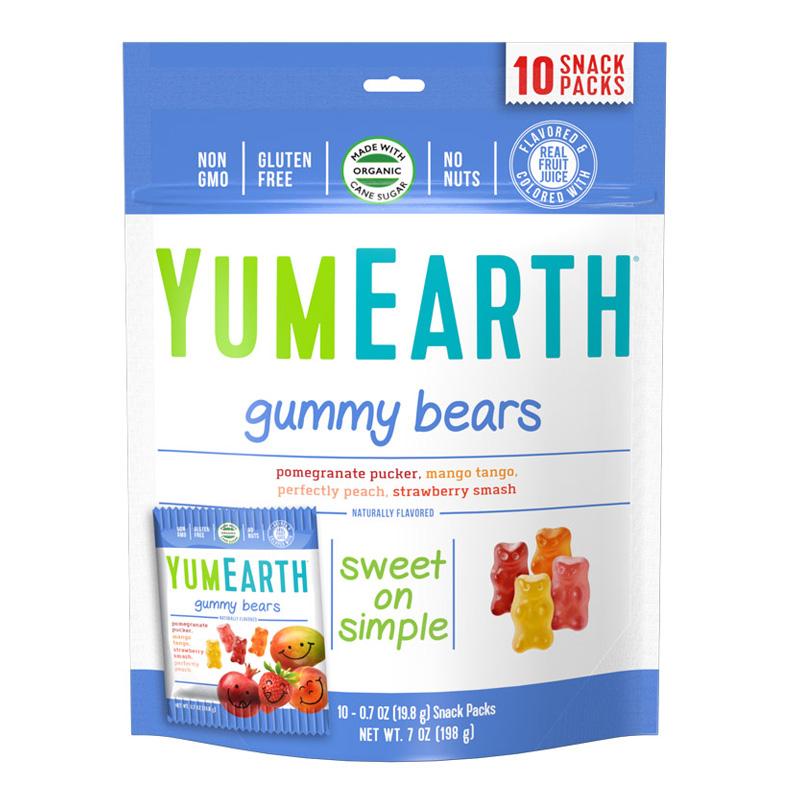 牙米滋  水果味软糖 198g