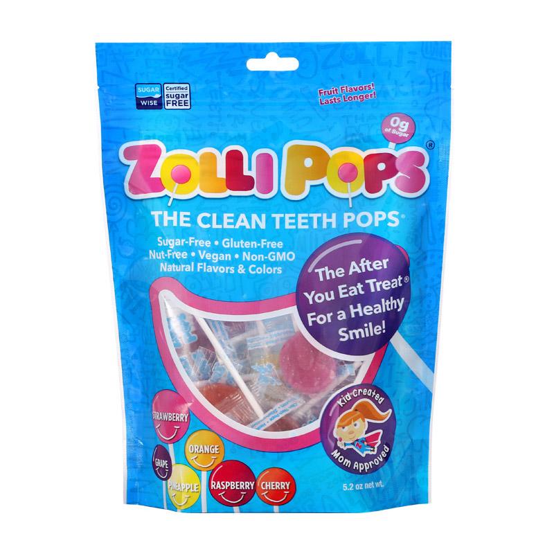 祖利 混合水果味棒棒糖25支袋装