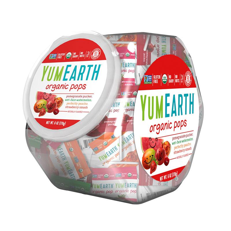 牙米滋  水果味棒棒糖(罐装) 170g